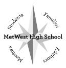 MetWest High School logo